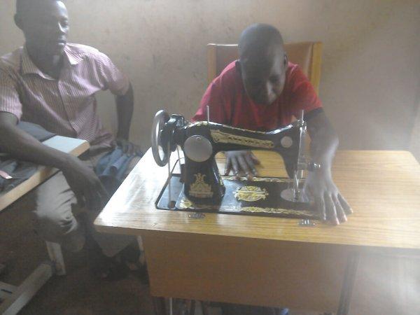 Skills development at Special Children Uganda
