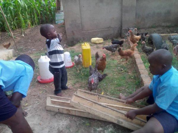skills development for children with disabilities at Special Children Uganda